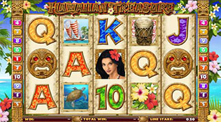 Hawaiian Treasure Slot - Online Casino Game
